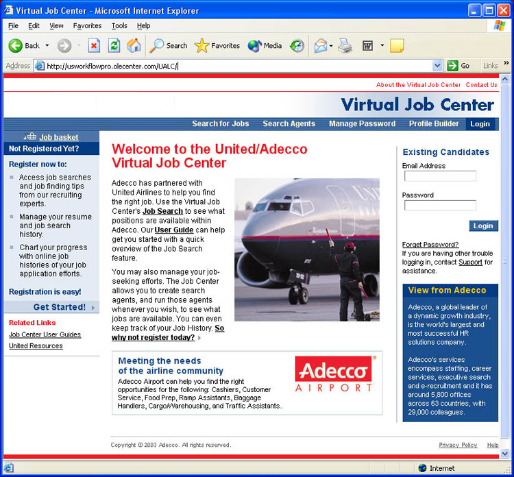 Virtual Job Center
